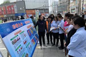 郑州金水区彩虹社工开展禁毒教育宣传活动