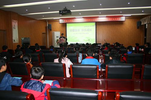 郑州禁毒宣传进校园 护航青少年健康成长