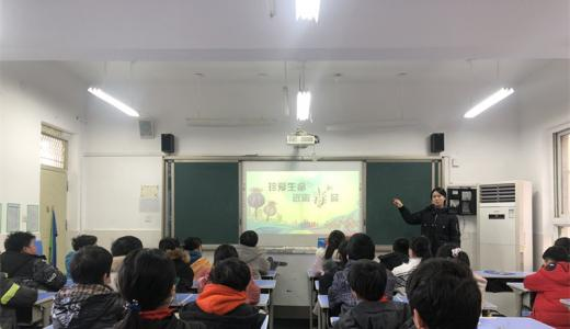 郑州一学校开展禁毒专题宣教活动 创建无毒校园